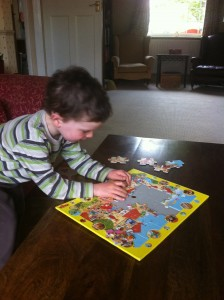 Review Haba Discovery Puzzle Knight S Castle Nine To