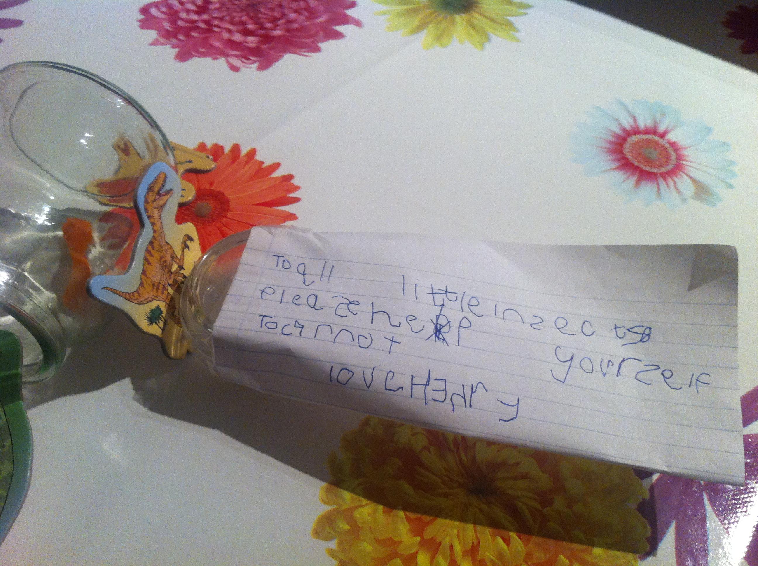 Henry's handwriting