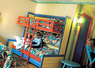 Beachcomber room Alton Towers Splash Landings Hotel