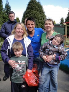 Meeting Peter Andre