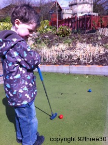 Extraordinary Golf at Alton Towers