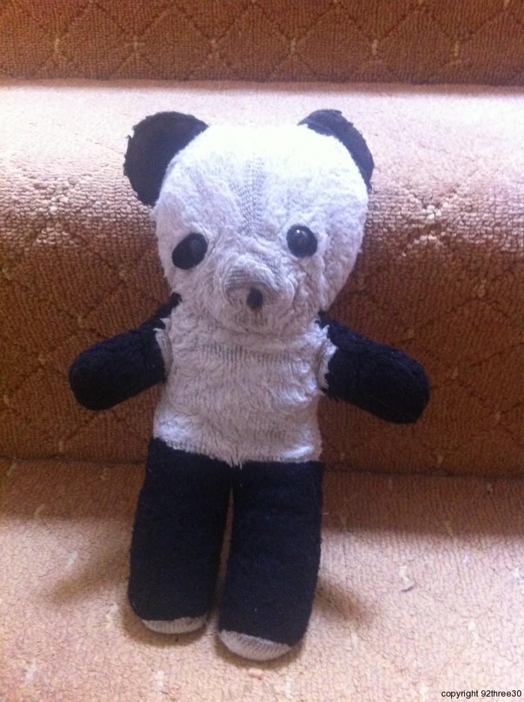 John the Panda teddy bear