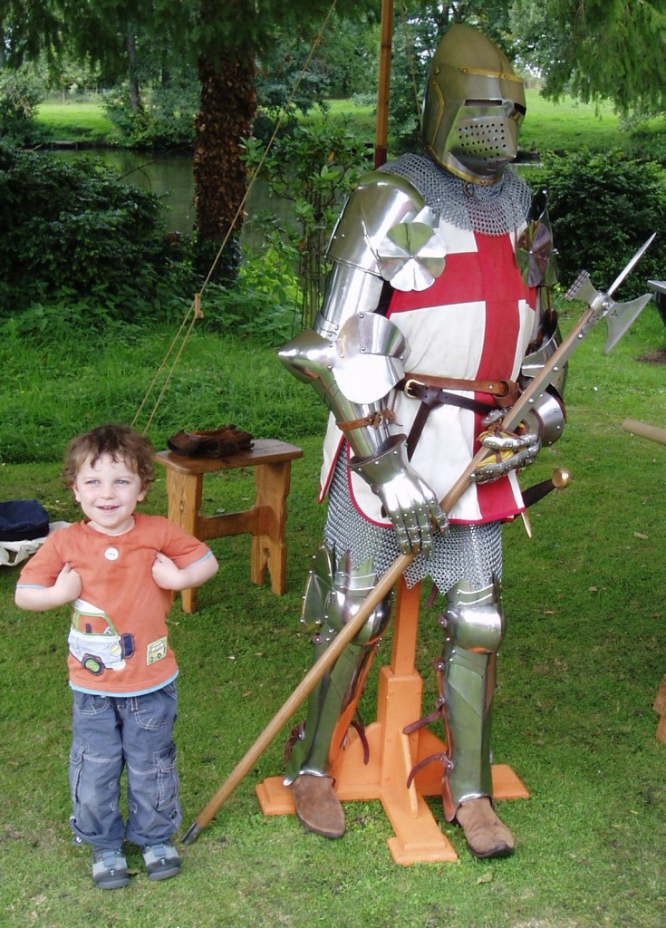 Knight with St.George's Cross