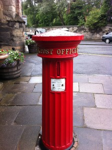 victorian postbox in warwick
