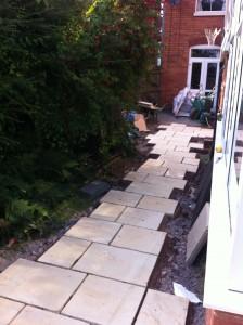 The new garden path