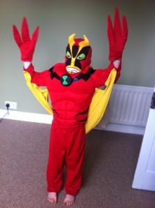 Jet Ray costume