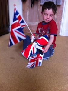 In patriotic mode