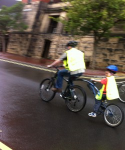 Cycling with Daddy