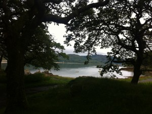 view of Mawddach estuary  from Mawddach Crescent