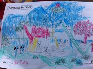 Sylvanian Families Colouring