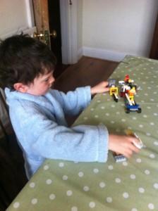 Playing Lego