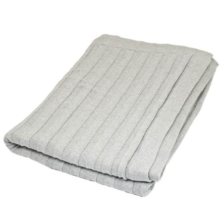 Achica ribbed throw