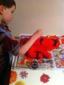 constructing Tipu's Tiger