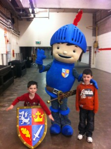 Mike the Knight at Merry Hill