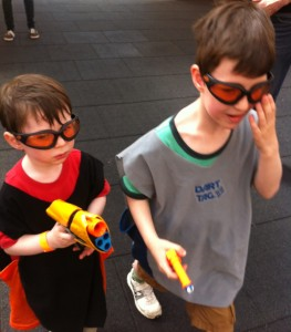 nerf combat area quest, merry hill