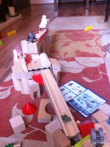 marble run as battleground