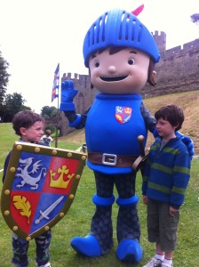 Mike the Knight at Warwick Castle