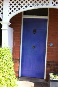 Dulux Marble Swirl 2 front door