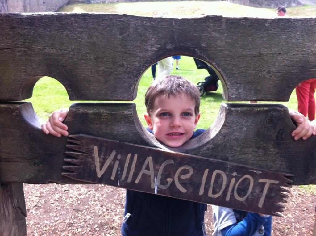 Village Idiot at Warwick Castle