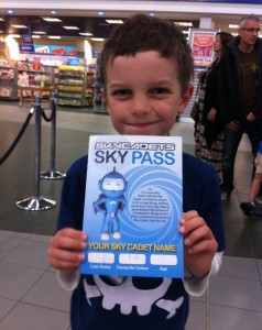skyside at Birmingham airport