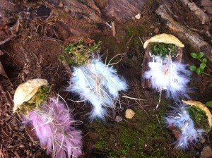 fairy bedroom with feather beds
