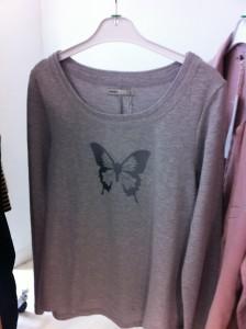 me&i butterfly sweatshirt