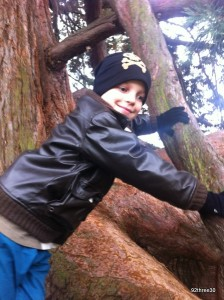 Running Free and Climbing Trees at Wrest Park