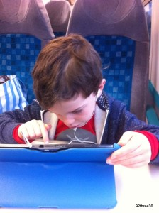 Passing Time on the Train
