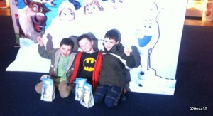 Seeing Frozen at The Odeon, Merry Hill
