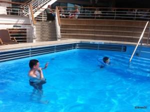 P&O Azura Terrace Pool