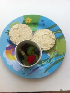 healthy child's breakfast for food spend challenge