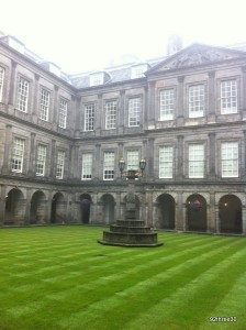 quad at holyrood
