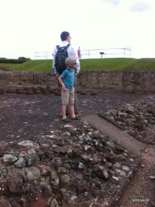 At Wroxeter