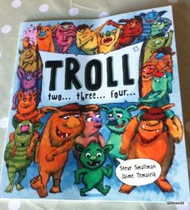 Troll Two Three Four book Parragon