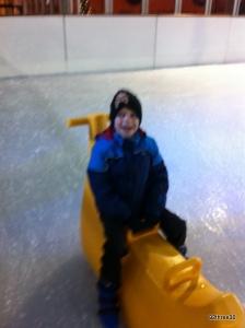 banana ice skating aid