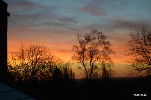 soft dawn colours