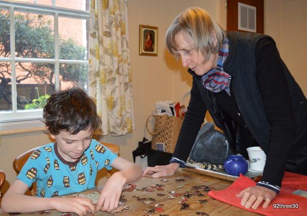 multigenerational jigsaw puzzle