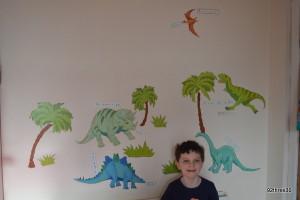 dinosaur wallpops wallart