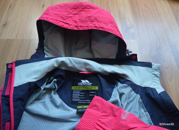 pink waterproof jacket