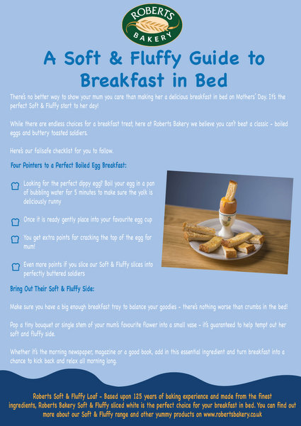 how to make breakfast in bed