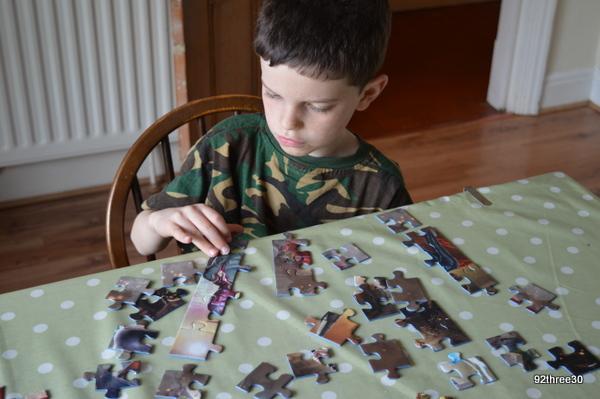 superhero jigsaw
