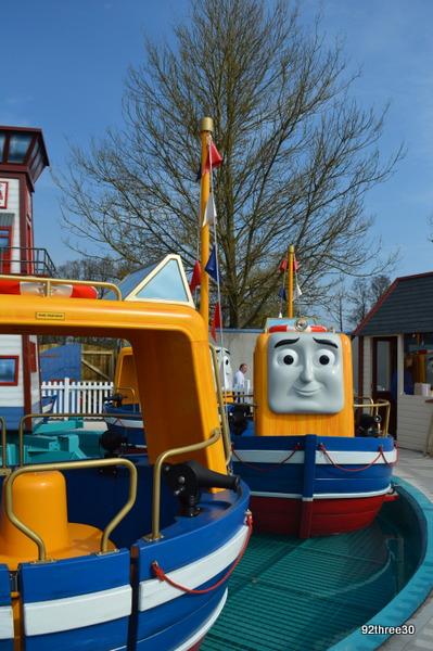 Captain's Sea Adventure, Thomas Land