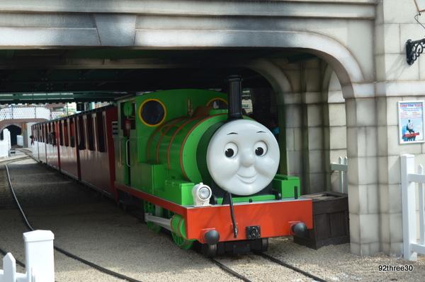train at Thomas Land