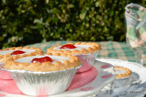 cakes at a picnic