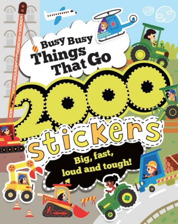 sticker book transport