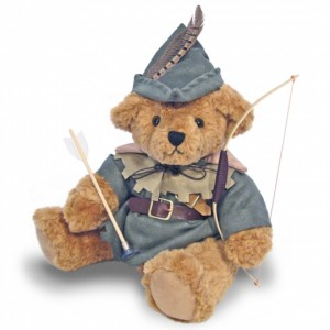 bear with bow and arrow