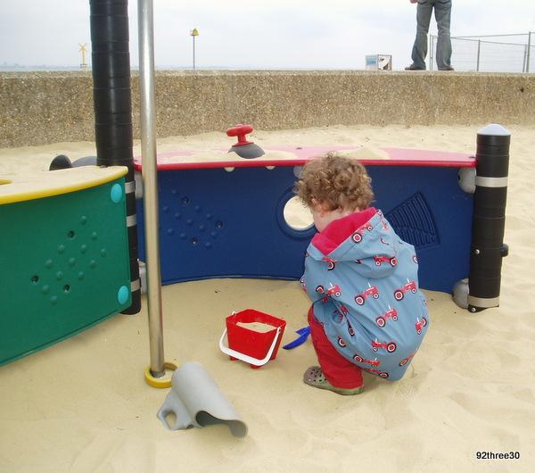 Ryde beach playground isle of wight