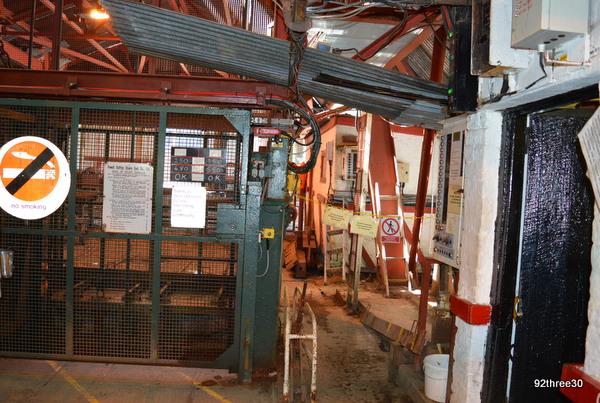 cage at big pit
