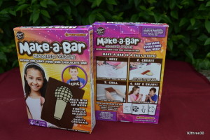 make a chocolate bar