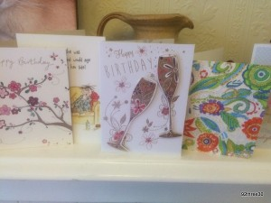 my birthday cards